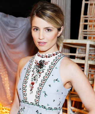 Dianna Agron Wears a Beautiful Diamond on Her Engagement Ring Finger
