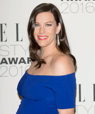 Pregnant Liv Tyler Is a Vision in Blue During London Fashion Week