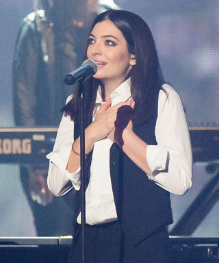 Watch Lorde's Beautiful David Bowie Tribute from the Brit Awards