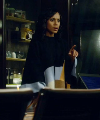 Scandal Fashion Recap: Why Olivia Pope Wears Her Colorblock Poncho