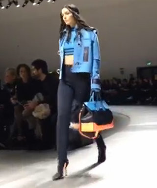 Back of the Cab: Watch Our 1-Minute Review of Versace's #MFW Runway Show
