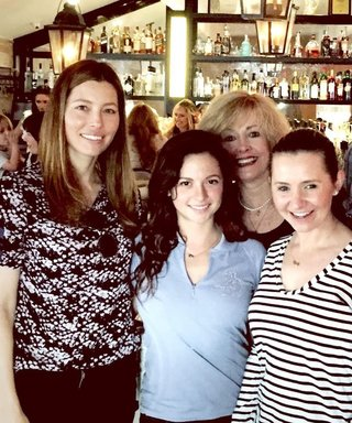 Jessica Biel's Restaurant Opening Turned into a 7th Heaven Reunion