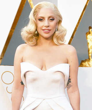Lady Gaga's Gorgeous Brandon Maxwell Oscars Look Is One of Five He Designed for Her