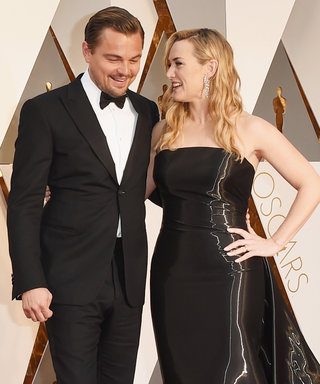Leonardo DiCaprio and Kate Winslet Just Won the 2016 Oscars Red Carpet