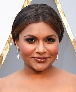 """Mindy Kaling's Secret for Staying Sane on the Road? Her """"Ask Dad"""" Pillow"""