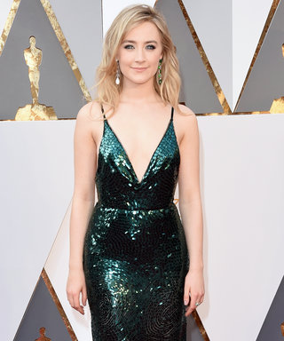 For Saoirse Ronan, Green Was the Only Choice for Her Oscars Dress