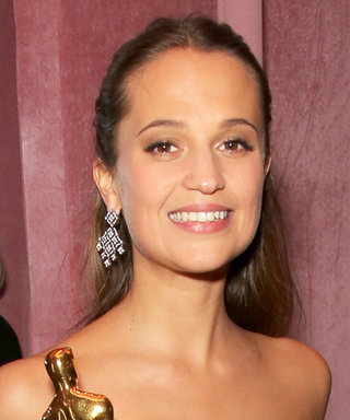 Alicia Vikander Danced the Night Away After Her Oscar Win for The Danish Girl