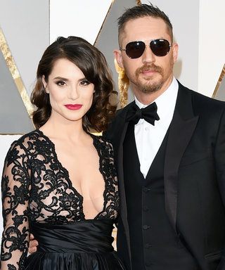 Tom Hardy's Gorgeous Wife Charlotte Riley Stole His Thunder on the Oscars Red Carpet