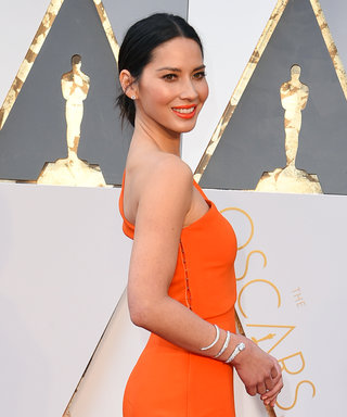 Here's How Olivia Munn Got Ready for the 2016 Oscars