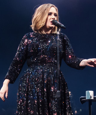 Adele Kicks Off Her 25 World Tour in a Dazzling, Fully-Sequined Burberry Dress
