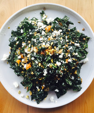 This Irresistible Kale Salad Recipe Will Make You Want Winter to Stick Around