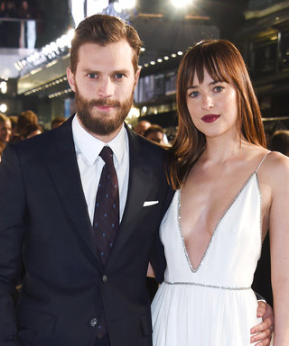 Dakota Johnson and Jamie Dornan Spotted Kissing While Filming Fifty Shades Darker