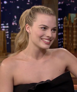 """Watch Margot Robbie Hilariously Struggle to Guess """"Labradoodle"""" During the Whisper Challenge"""