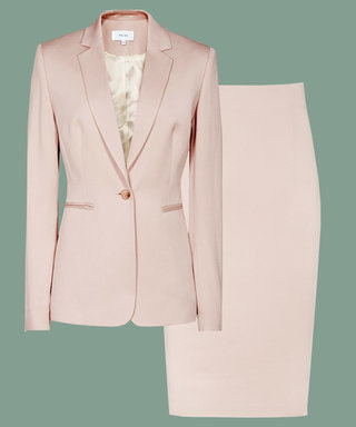 How to Make a Skirt Suit Look Cool