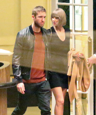 Taylor Swift Flaunts Her Toned Gams on Date Night with Calvin Harris in L.A.