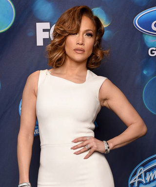 Jennifer Lopez Channels Old Hollywood Glamour on Last Night's American Idol