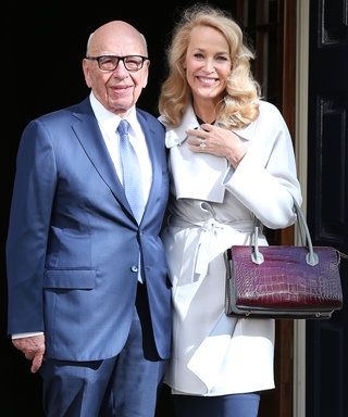 Jerry Hall and Rupert Murdoch Are Officially Married