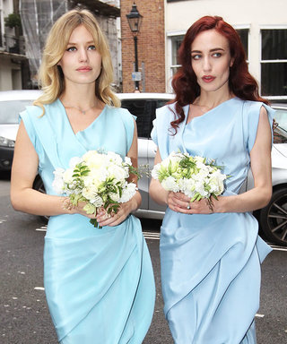 Georgia May Jagger Just Wore the Chicest Bridesmaid Dress to Her Mother's Wedding