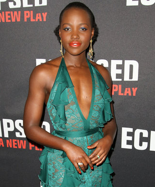 Lupita Nyong'o Shines in Green After Making Her Broadway Debut in Eclipsed