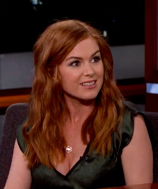 Isla Fisher Snuck Her Husband's Ali GCostume into the Oscars in Her Spanx