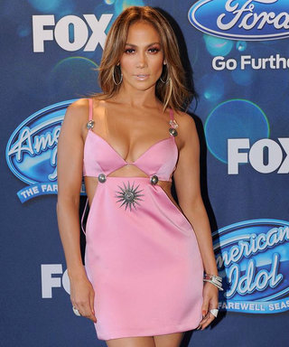 Jennifer Lopez Shows How Sexy Pink Can Be on American Idol