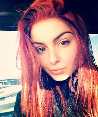 Ariel Winter Dyes Her Hair Bright Red