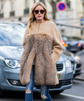 Olivia Palermo Takes Her New Fave Coat Out for Another Spin