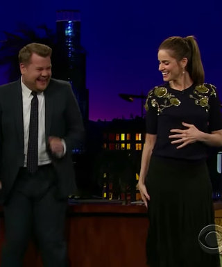 "Watch Amanda Peet Show Off Her Sweet ""Old Mom"" Dance Moves"