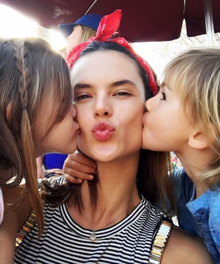 Alessandra Ambrosio Takes Her Adorable Kids to Disneyland—See the Photos
