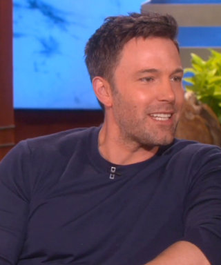 Ben Affleck Gets Scared by Wonder Woman on Ellen, and His Reaction Is Priceless