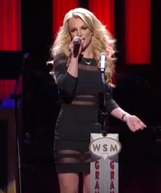 Watch Britney Spears Surprise Sister Jamie Lynn with an Emotional Introduction at the Grand Ole Opry
