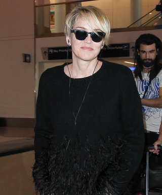 Sharon Stone Proves She's the Queen of Cool at the Airport