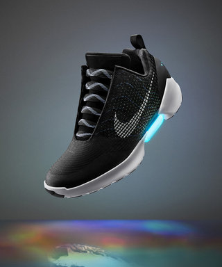 The Future Is Now—Nike IntroducesSelf-Lacing Shoes