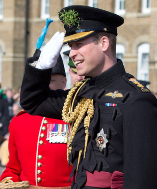 Prince William Attends St. Patrick's Day Parade Sans Kate Middleton