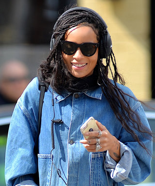 Zoe Kravitz Delivers Serious '90s It-Girl Vibes in Double Denim