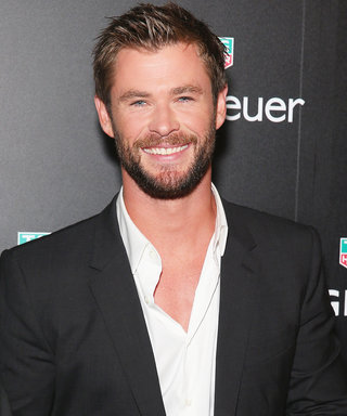 This Photo of Chris Hemsworth and His Twin Boys Will Melt Your Heart