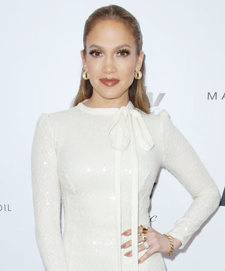Jennifer Lopez Is White Hot Presenting Her Stylists with a Coveted Fashion Award