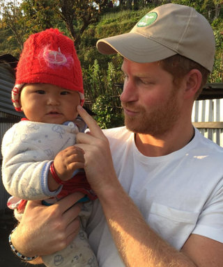 Prince Harry Just Melted Our Hearts with This Snap from Nepal