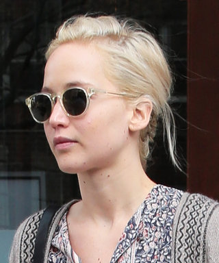 Jennifer Lawrence Shows Off Her Toned Legs in a Very Boho Chic Look