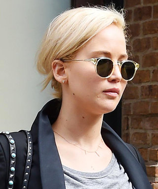 Jennifer Lawrence Flaunts Her Taut Abs in a Crop Top in N.Y.C.