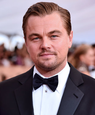 Leonardo DiCaprio Hangs Out with Elephants, Makes Us Love Him Even More