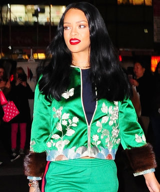 """This Is How Rihanna Gives a """"Phresh Out the Runway"""" Tracksuit a Rock Star Twist"""