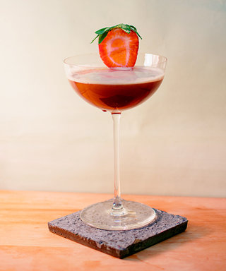Toast to the Weekend with This Strawberry Cocktail