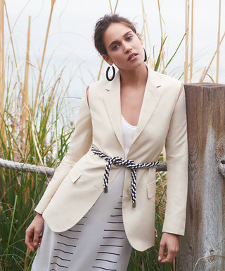 How to Get Matilda Lutz's Relaxed Suiting Look in 5 Pieces