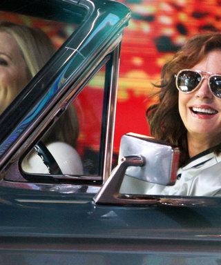 Susan Sarandon and Geena Davis Reunite in Their Thelma & Louise Car, 25 Years Later