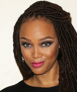 Tyra Banks's New Beauty Product Is Giving False Lashes Some Serious Competition