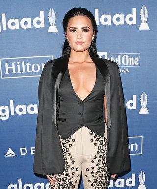 Demi Lovato Gets Emotional at the GLAAD Media Awards