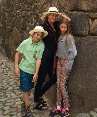 Gwyneth Paltrow Just Took Her Kids to Peru for One Awesome Spring Break