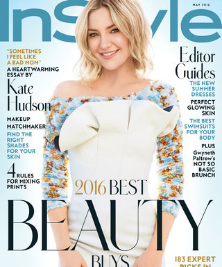 Here's What It Was Like to Create the May Issue of InStyle with Kate Hudson