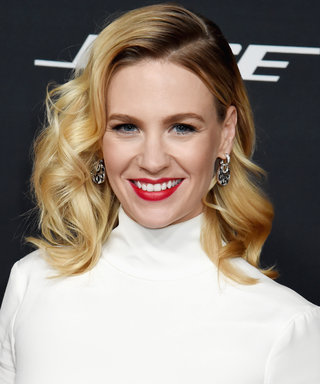 January Jones Has This Thing with Floors in Her Latest Outfit 'Gram